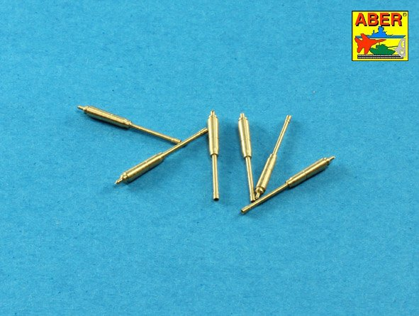 Aber 1/35 Set of barrels for US M16A1 or M231 5,56mm gun barrels x 6 pcs. # 35L221