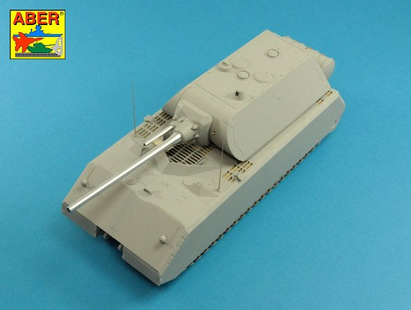 Aber 1/35 Set of barrels for German Heavy Tank MAUS # 35L225