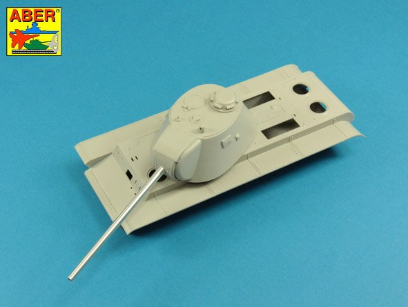 Aber 1/35 Russian 107  mm ZIS-6 tank barrel for KV-3 # 35L256