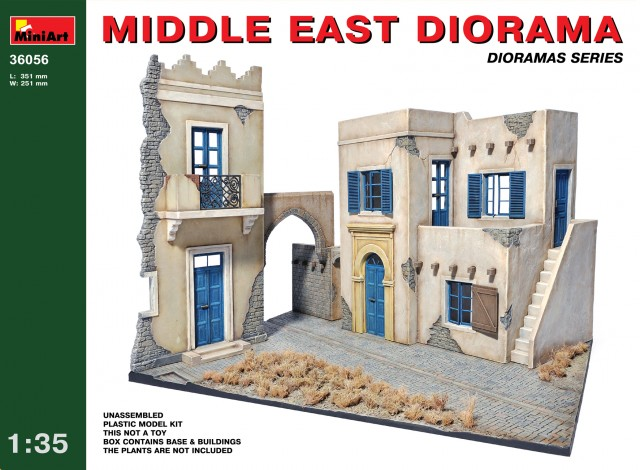 MiniArt 1/35 MIDDLE EAST DIORAMA # 36056