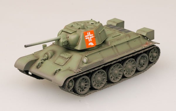 Easy Model 1/72 T-34/76 Model 1943 German Army # 36268