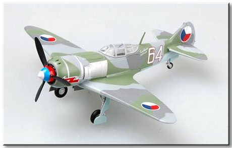 "Easy Model 1/72 La-7 ""White 64"" Form Czech Air Force # 36330"