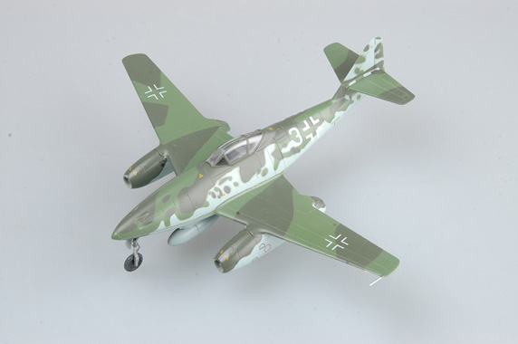 Easy Model 1/72 Me262 A-1a, KG44, Flown by Galland, Germany 1945 # 36369