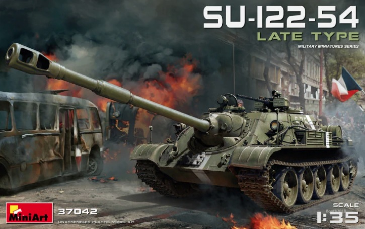 MiniArt 1\\35 SU-122-54 Late Type # 37042