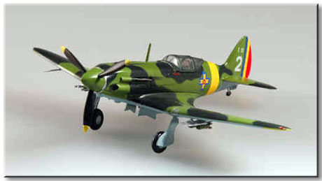 Easy Model 1/72 Soviet MiG-3 Rumanian Captured # 37222