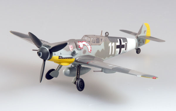 Easy Model 1/72 BF-109G-6 VII. /JG3 1944 Germany # 37256