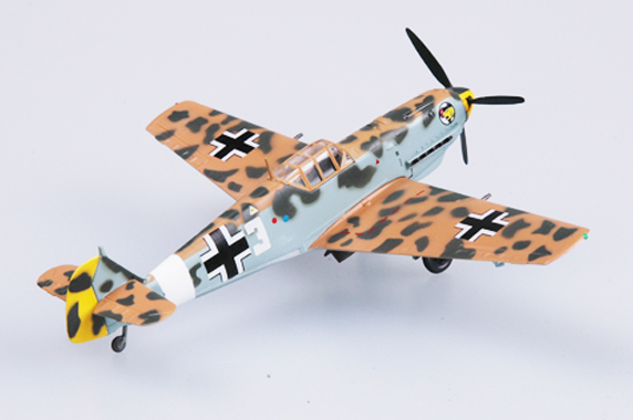 Easy Model 1/72 BF-109E-7/TROP 1/JG27 Marseille # 37279