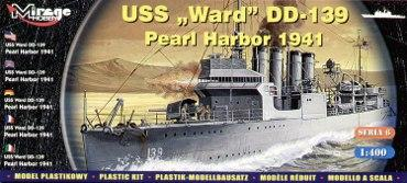 "Mirage Hobby 1/400 USS Ward DD-139 ""Pearl Harbor 1941"" # 40601"