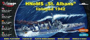 "Mirage Hobby 1/400 HNoMS ""St Albans"" Allied destroyer # 40609"