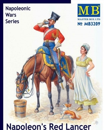 Master Box 1/32 Napoleon's Red Lancer, Napoleonic Wars Series # 3209