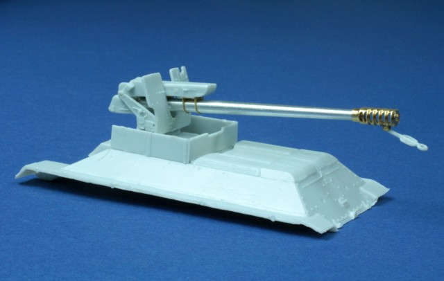 RB model 1/72 122mm D-30 L/38 SPG T-34 / D-30 122mm Howitzer D-30 # 72B46