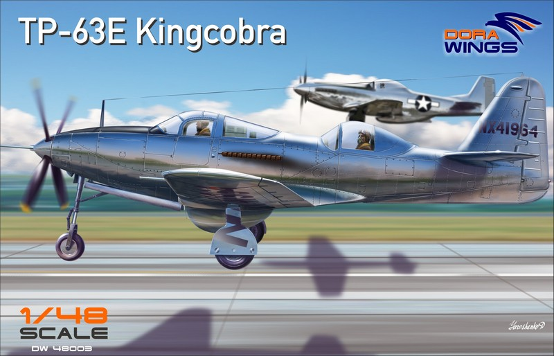 Dora wings 1/48 TP-63E Kingcobra (Two Seat) # 48003