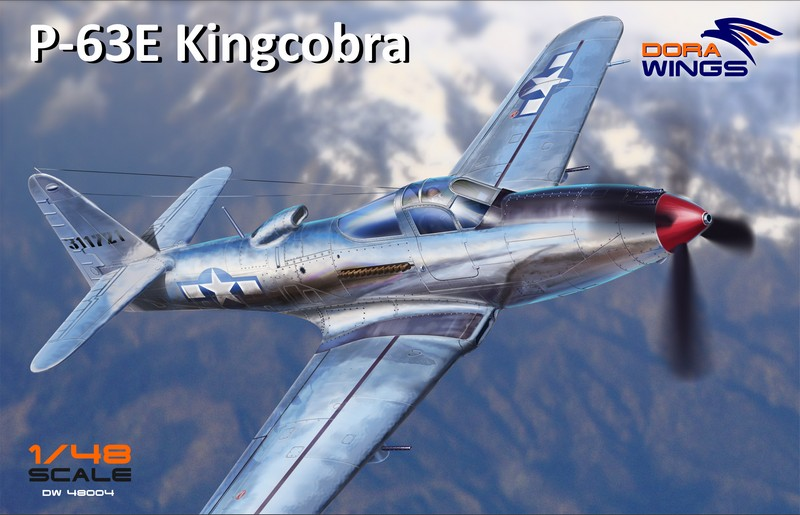 Dora wings 1/48 P-63E Kingcobra # 48004