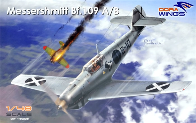 Dora Wings 1/48 Messershmitt Bf-109A/B