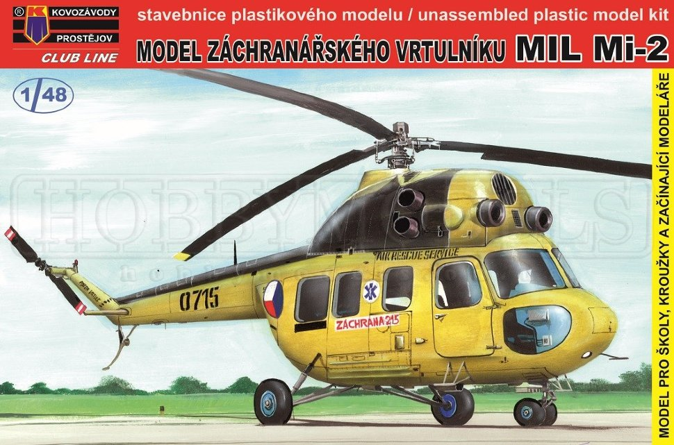 KP MODEL  1\48 Mil Mi-2 Snap Tite # 4801