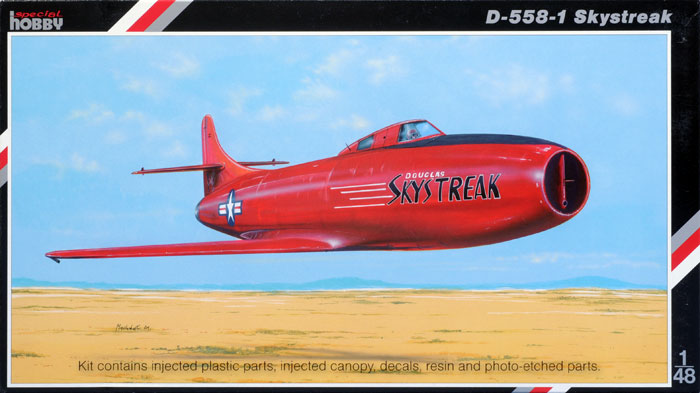 Special Hobby 1/48 D-558-1 Skystreak # 48080