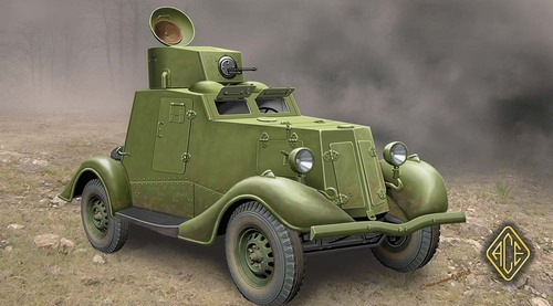 ACE 1/48 FAI-M Armoured Car # 48107