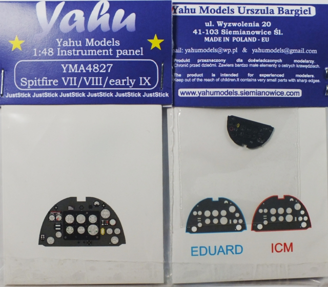 Yahu Models 1/48 Spitfire VII / VIII / early IX # 4827