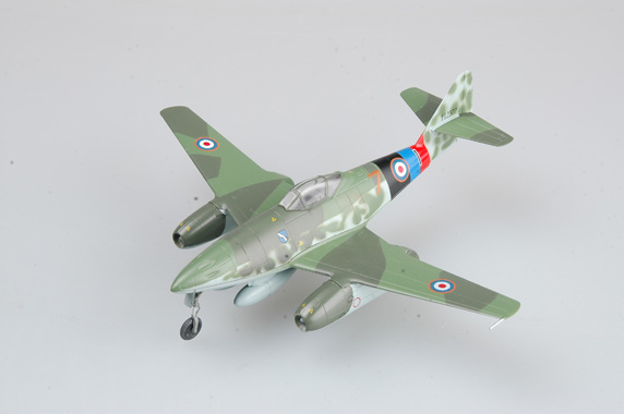 "Easy Model 1/72 Me262 A-1a ""Yellow 7"", Captured by UK, May 1945 in Lubeca # 36367"
