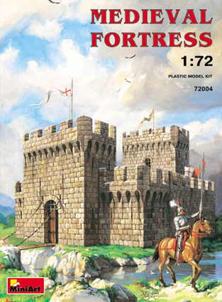MiniArt 1/72 MEDIEVAL FORTRESS # 72004