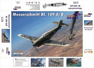Dora Wings 1/72 Messerschmitt Bf.109 A/B Legion Condor # 72011