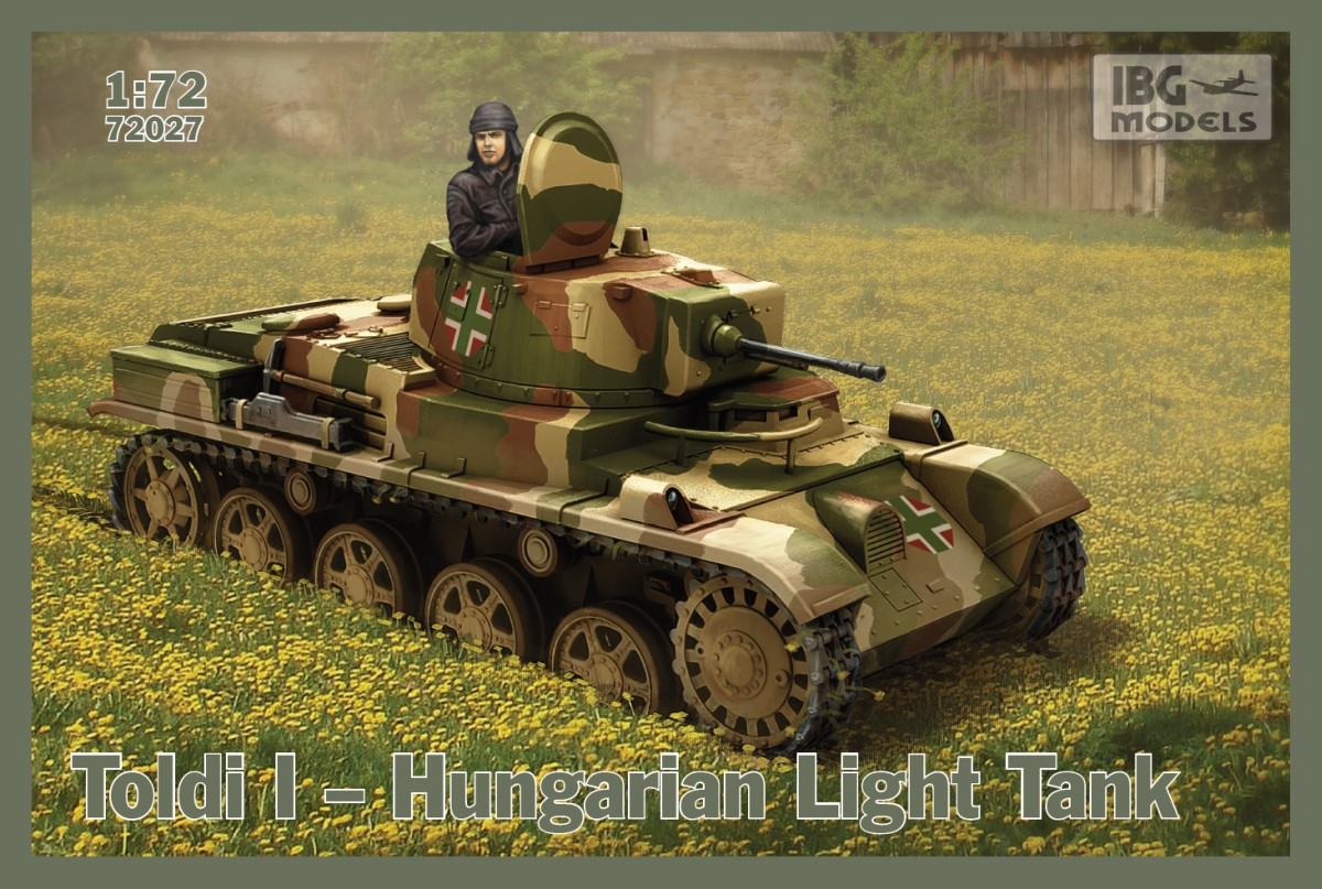 IBG 1/72 Toldi I Hungarian Light Tank  # 72027