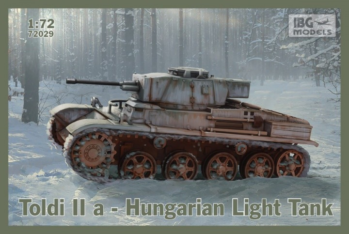 IBG 1/72 Toldi IIa Hungarian Light Tank # 72029