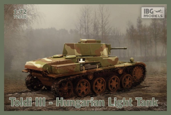IBG 1/72 Toldi III Hungarian Light Tank # 72030