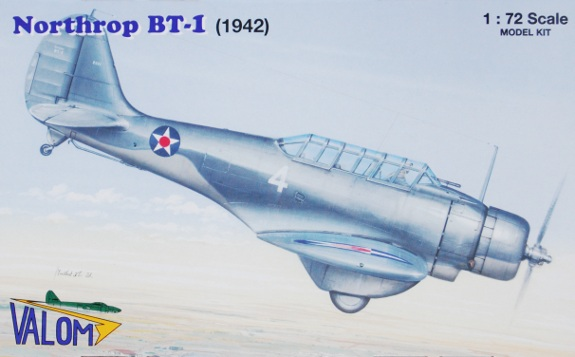 Valom 1/72 Northrop BT-1 (1942) # 72046