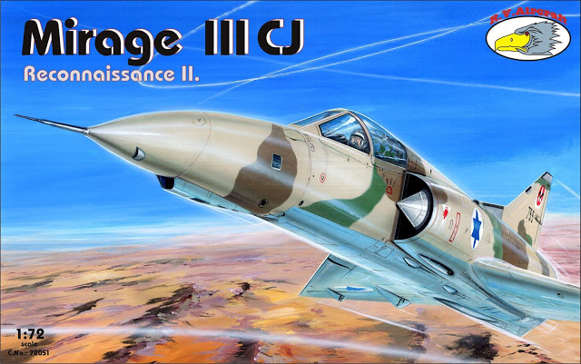R.V. Aircraft 1/72 Mirage III CJ Reco vol.II # 72051