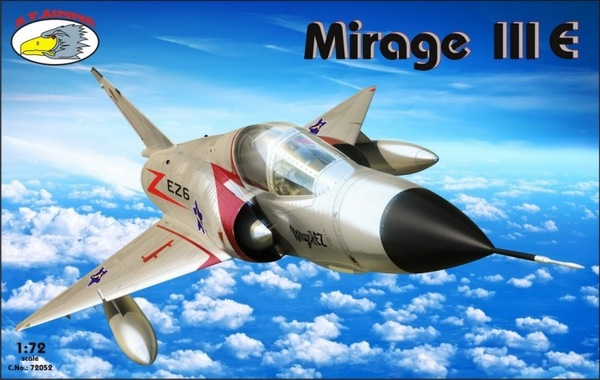 R.V. Aircraft 1/72 Mirage III E # 72052