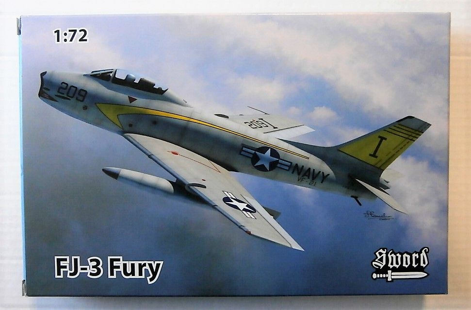 SWORD 1/72 72108 FJ-3 FURY # 72108