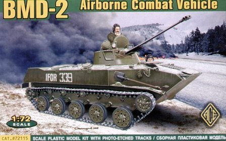 ACE 1/72 Airborne Combat Vehicle BMD-2 # 72115