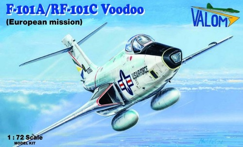 Valom 1/72 McDonnell F-101A/RF-101C # 72119