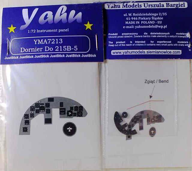Yahu Models 1/72 Dornier Do 215 B-5 ICM # 7213