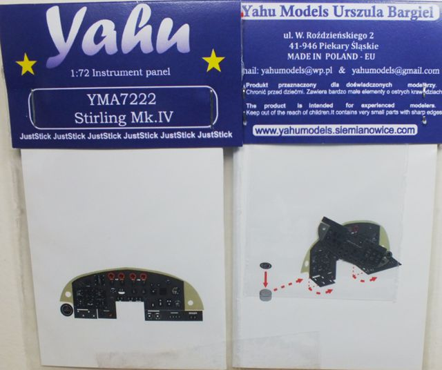 Yahu Models 1/72 Stirling Mk.IV # 7222