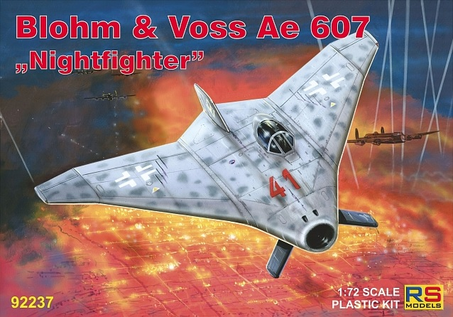 "RS Models 1/72 Blohm & Voss Ae 607 ""Nightfighter"" # 92237"