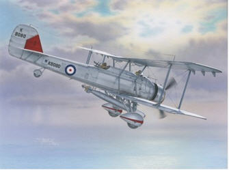 Special Hobby 1/72 Vickers Vildebeest Mk.IV Perseus Engine Version # SH72243