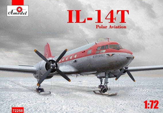 A-Model 1/72 IL-14T Polar Aviation # 72258