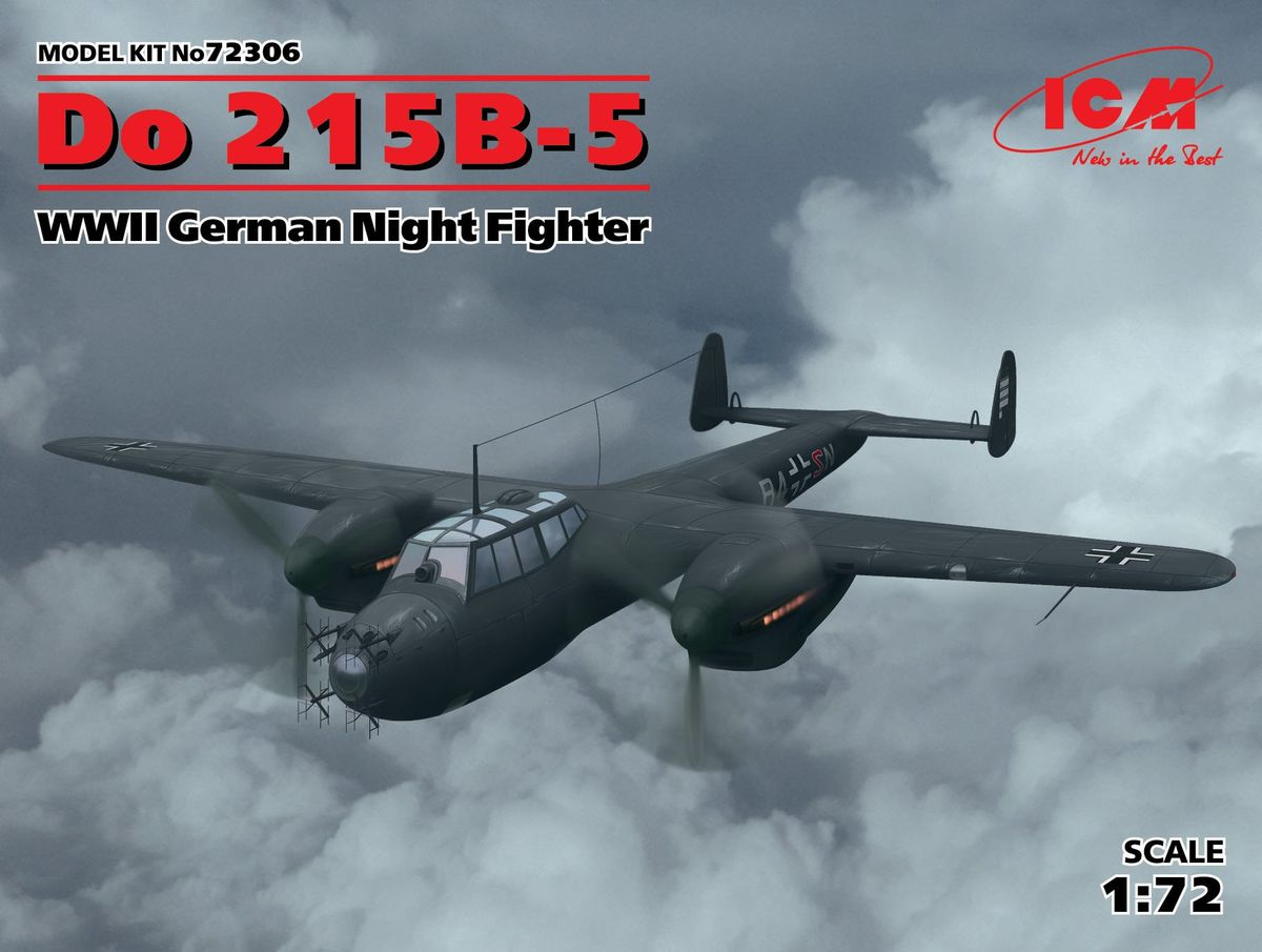 ICM 1/72 Do 215B-5, WWII German Night Fighter # 72306