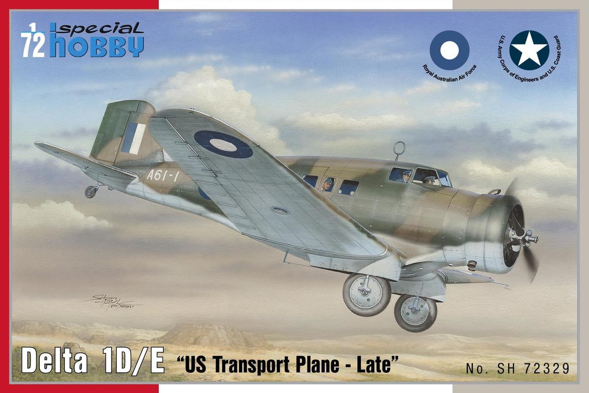 Special Hobby 1/72 Delta 1D/ E US Transport plane # 72329