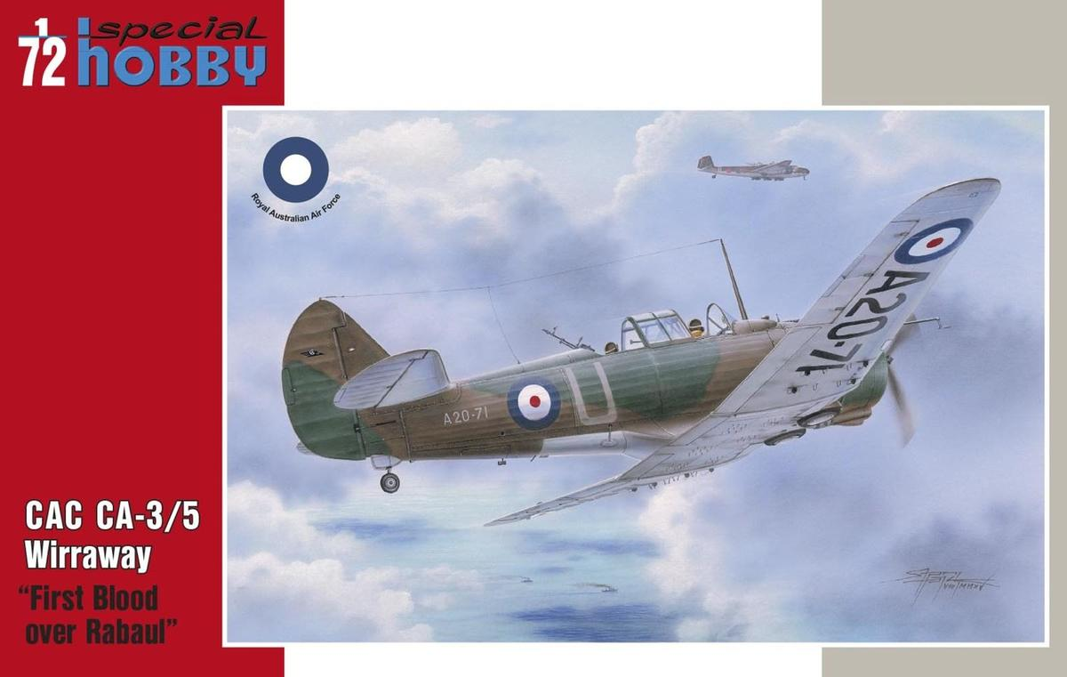 Special Hobby 1/72 CAC CA-3/5 Wirraway - First Blood over Rabaul # 72331