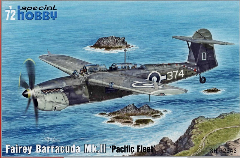 "SPECIAL HOBBY 1\72 Fairey Barracuda Mk.II ""Pacific Fleet"" # 72343"