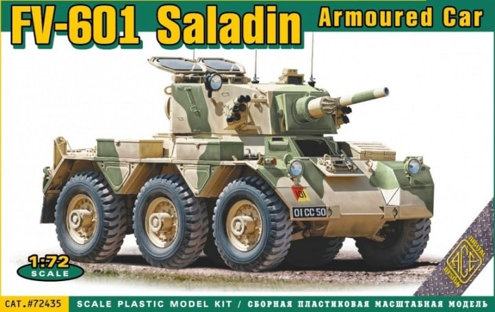 ACE 1/72 FV-601 Saladin Armoured car # 72435