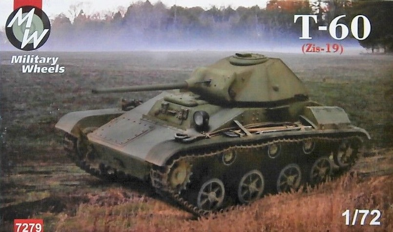 Military Wheels 1/72 T-60 (ZIS-19) # 7279