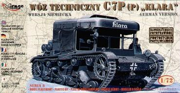 Mirage Hobby 1/72 C7P(p) German recovery vehicle # 72892