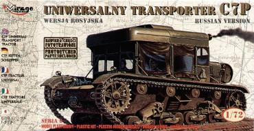 Mirage Hobby 1/72 C7P Universal Transport Tractor (Russian version ) # 72893