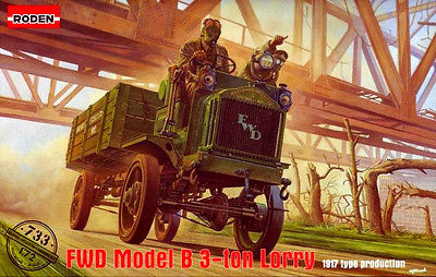 РОДЕН 1/72 FWD Model B 3 Ton Lorry # 733