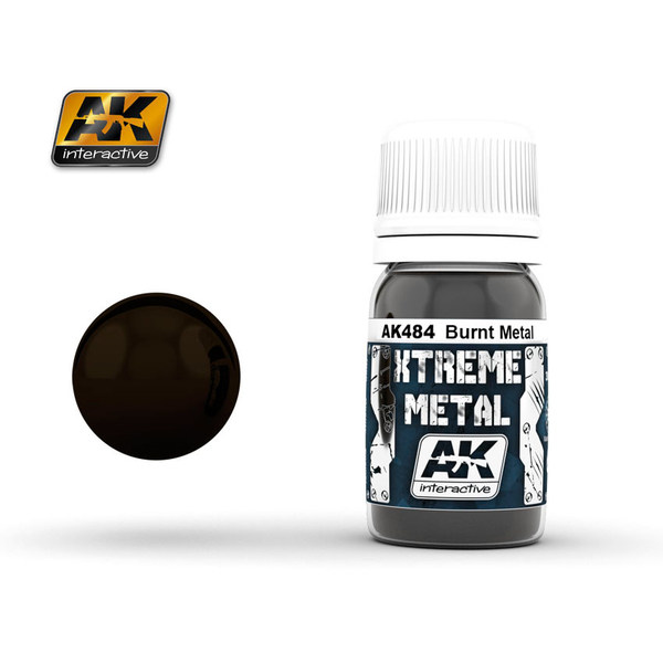 AK Interactiv XTREME METAL BURNT METAL # 484