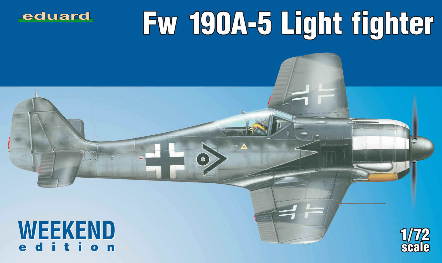 Eduard 1/72 Fw 190A-5 Light Fighter (2 cannons) # 7439